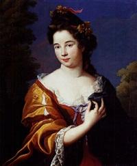 portrait d'une dame de qualité by nicolas fouche