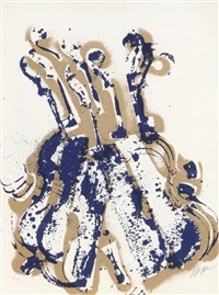 yves klein's violins by arman