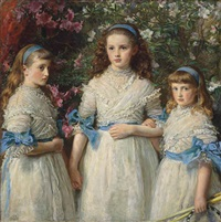 sisters by sir john everett millais