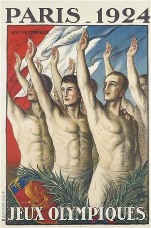 paris 1924 jeux olympiques by jean droit