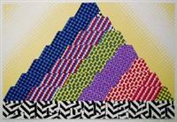 the 1/2 ziggurat by joe tilson