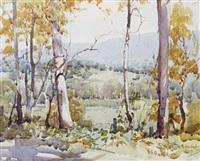 near marysville, victoria, australia by harold brocklebank herbert