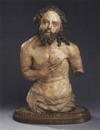 christustorso aus einer täufergruppe by hans spindler