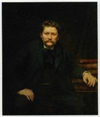 portrait d'homme assis by marius barthalot
