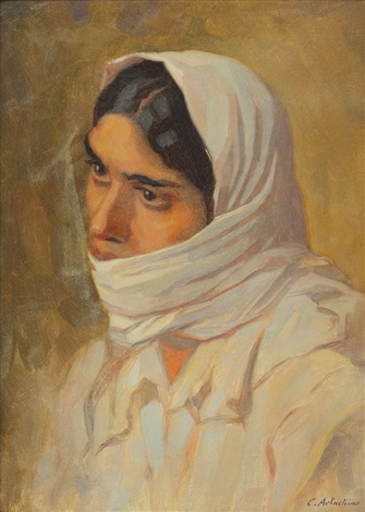 woman from dobrogea by constantin artachino