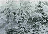 the olympian gods by johann jacob von sandrart