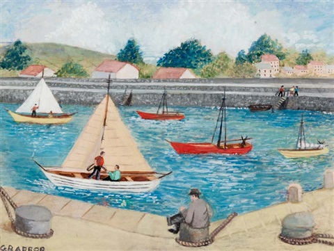 busy day at the canal by grace barrow
