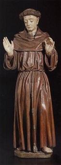 saint francis by arnt von zwolle