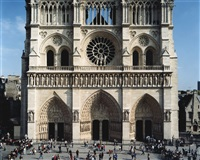 notre dame, paris by thomas struth