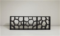 opus incertum shelving unit (+ 2 others; 3 works) by sean yoo