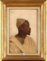 profil d'un marocain by andré hennebicq