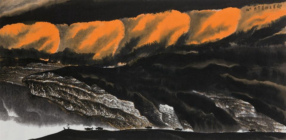 landscape by jia youfu