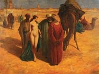 le marchand d'esclave by eduard ansen-hofmann