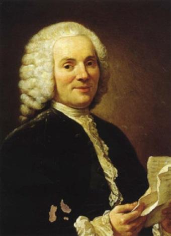 Portrait De Jean Jacques Rousseau By Louis Gabriel Blanchet