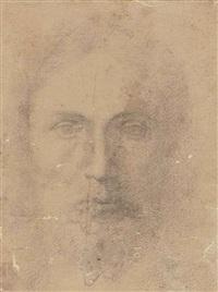 tête d'homme barbu by parmigianino