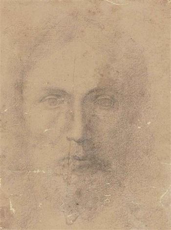 tête dhomme barbu by parmigianino
