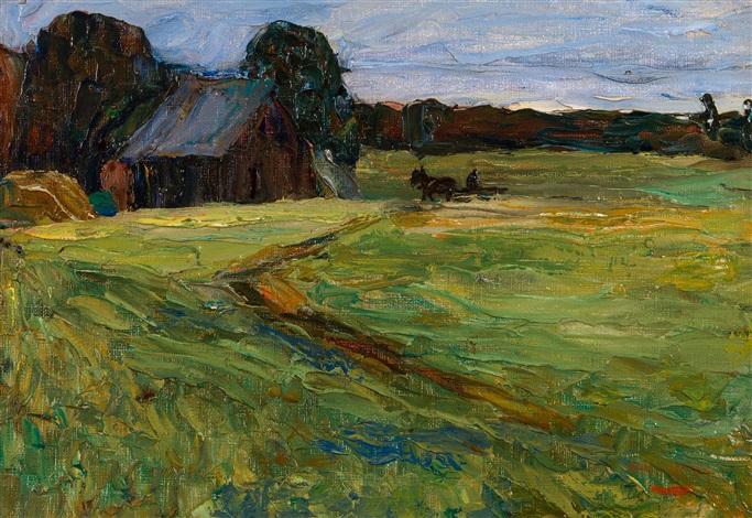 Rural Landscape by Wassily Kandinsky on artnet