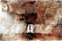 abstracto con figura by roberto de leon