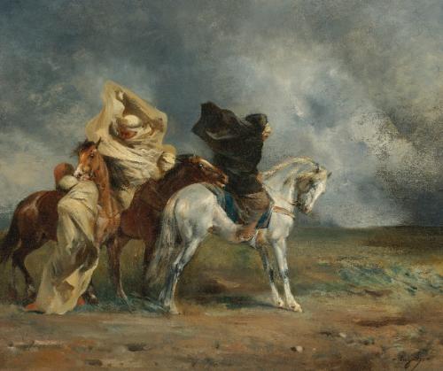 le simoun by eugène fromentin