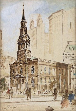 trinity church new york by guy carleton wiggins