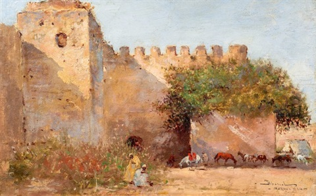 les remparts de meknès by felipe barantes abascal