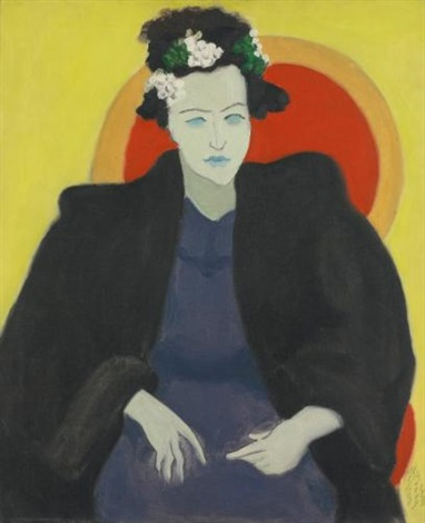 artists wife by milton avery