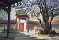 庭院 by luo gongliu