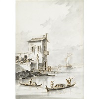 view along the adriatic by francesco guardi