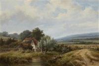 a summer idyll by hendrik pieter koekkoek