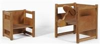 fauteuil et fauteuil-jouet (set of 2) by kay bojesen