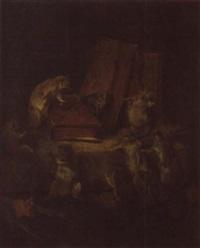 le conseil des rats by philibert-leon couturier