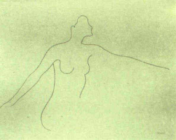 figura reclinada by andreu alfaro