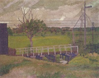 the footbridge by william ratcliffe
