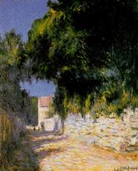 paysage impressionniste by anatole eugène hillairet