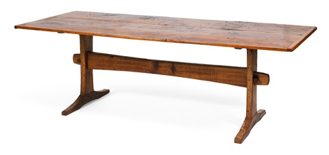 West Barnstable Tables Trestle Table By Dick Kiusalas On Artnet