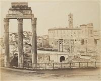 foro romano; san pietro (2 works) by enrico verzaschi and giuseppe ninci