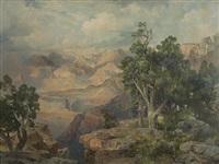 grand canyon of arizona by thomas moran
