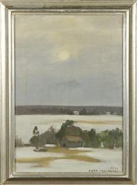 landscape by eero nelimarkka