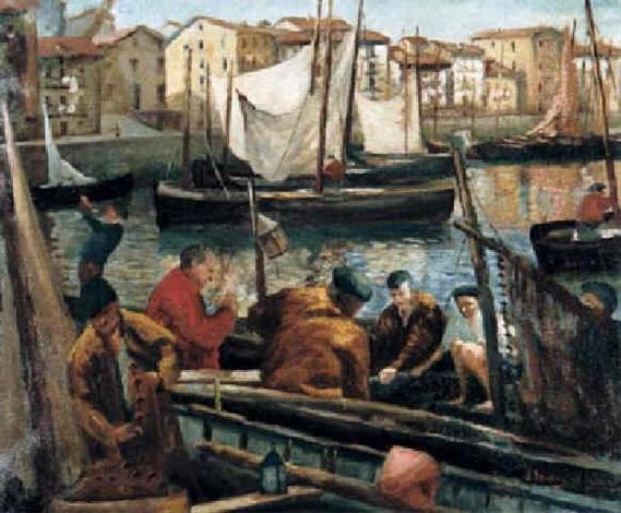 pescadores by julián ibáñez de aldecoa