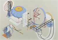 historical survey of projects: 1975-1992 (suite of 10) by alice aycock