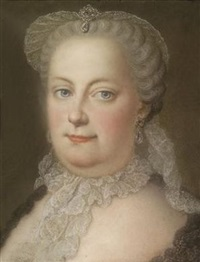 kaiserin maria theresia by michael christoph emanuel hagelgans