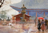 rainy day in tokyo by michael john angel