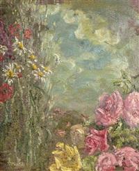 roses et fleurs des champs by georges bouche