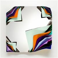 metal box (tahiti) by jim lambie