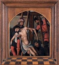 kreuzabnahme christi by marcellus coffermans