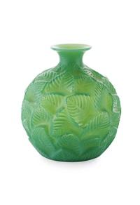 ormeaux vase by rené lalique