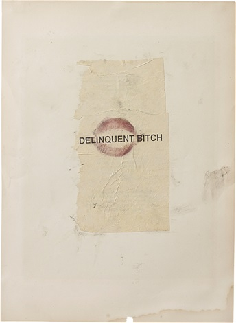 delinquent bitch by dash snow