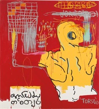 krong thip (torso) by jean-michel basquiat