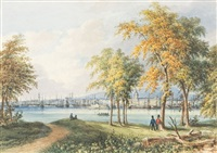 montreal from st. helen's island by james d. duncan