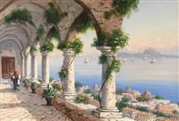 view of naple's harbor by y. gianni
